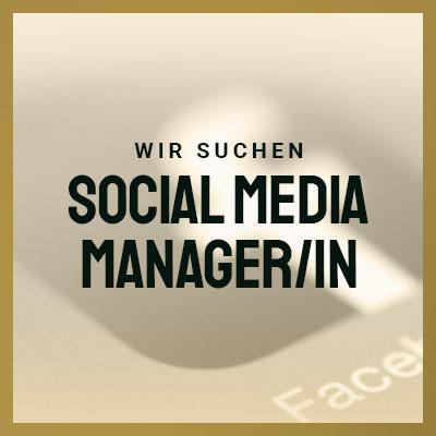 Social Media Manager/in gesucht